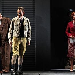 Andrew Finden (Rittmeister), Björn Christian Kuhn (Erich), Kristine Larissa Funkhauser (Valerie)